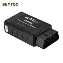 Digimotor Original ELM327 Bluetooth OBD2 2016 ELM 327 OBDII Code Reader Diagnostic Tool Mini Scanner OBD 2 Car OBD-II