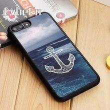 LvheCn Бесконечность Якорь Морской телефон чехол для iPhone 5 6 6s 7 8 plus 11 pro X XR XS Max samsung Galaxy S6 S7 edge S8 S9 S10