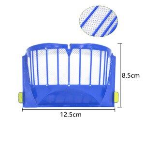 Image 3 - Kit de escova de filtro para irobot roomba 600 series 605 615 616 620 621 631 651 650 690 680 ferramentas limpeza batedor escova filtros kit