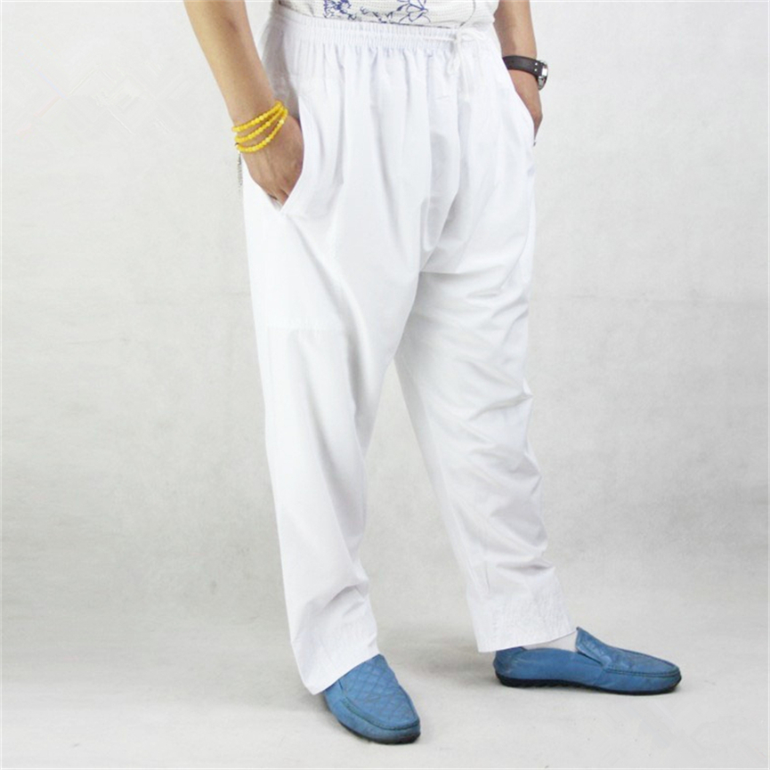 5Color Muslim Men Islamic Trousers Arab Prayer Pants for Male Arabic Loose Arabia Islam Clothing Traditional Man Wear Trousers