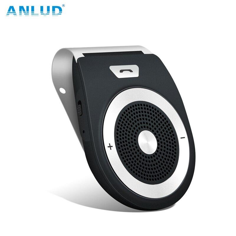 Aliexpress.com : Buy ANLUD Bluetooth Car Kit Handsfree Wireless Bluetooth Speaker Phone MP3