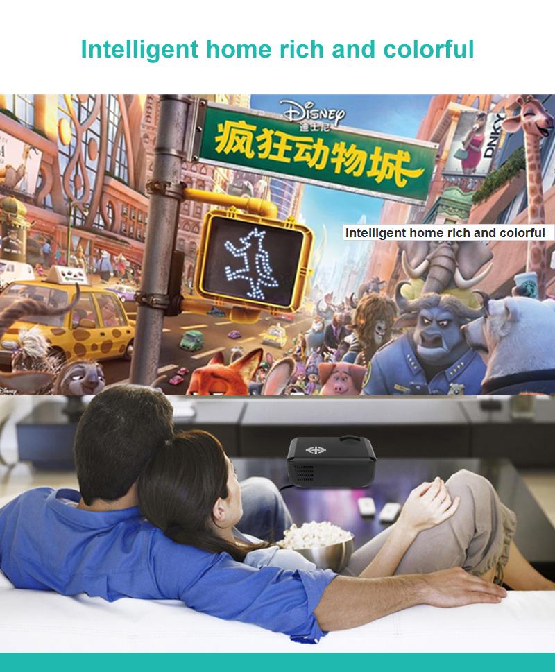 M17 Mini Projector Full HD (7)