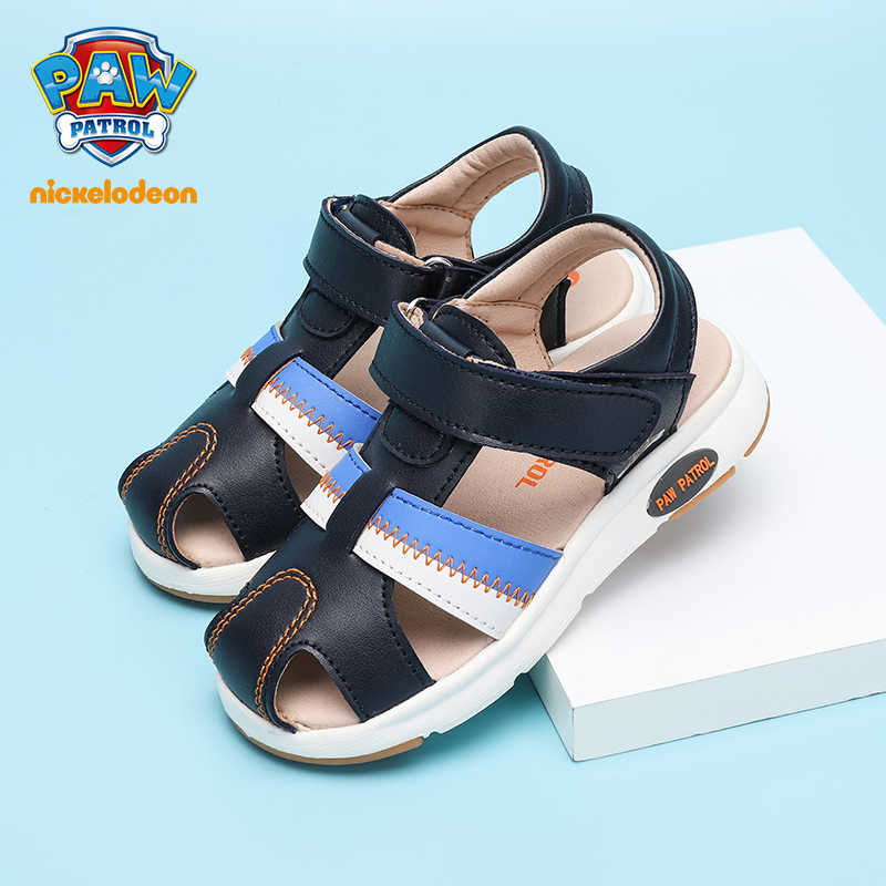 PAW PATROL Sandals Children Shoes For Boys Summer Fashion Brand Comfortable Girls Beach Shoes Flat Heel Baby Sandals Size 21-30