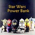 Minions cos stormtrooper de star wars darth vader banco de la energía de emergencia batería externa powerbank móvil para apple samsung