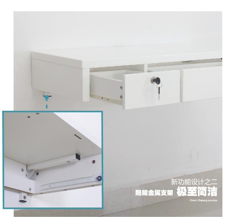 pintura colgando escritorio de la computadora las paredes del cajn pequeo con colgar en la