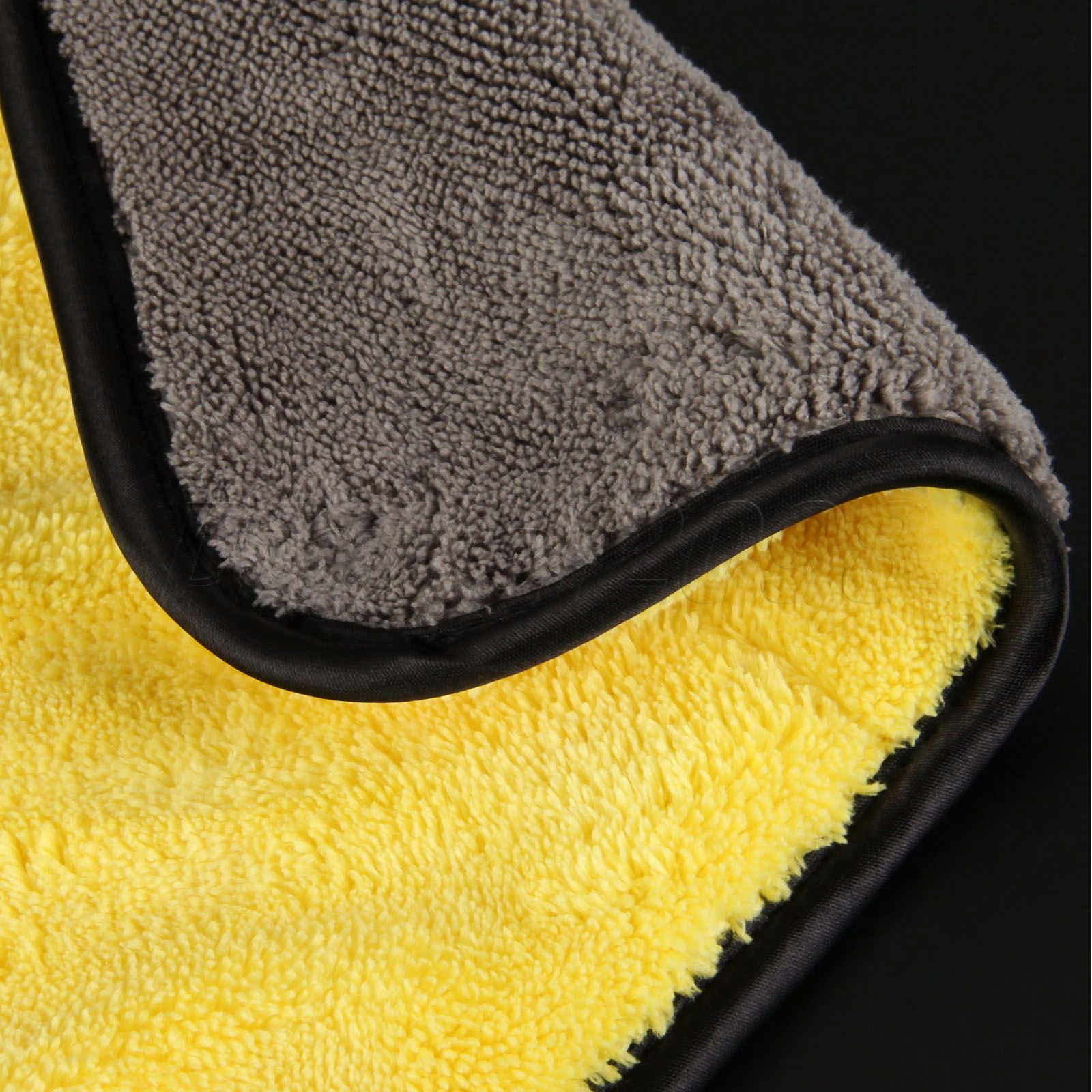 Image 4 - Yetaha 92*56cm Car Waxing Cloth Wash Microfiber Towel Car Cleaning Care Drying Detailing Polishing-in Sponges, Cloths & Brushes from Automobiles & Motorcycles