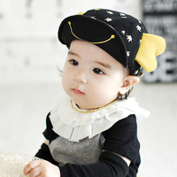 NEW Super Cute Baby Hats Soft Eaves Baseball Cap Summer Cotton Comfortable Little Wings Baby Boy