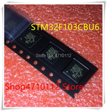 NEW 10PCS LOT STM32F103CBU6 32F103CBU6 STM32F 103CBU6 QFN 48 IC