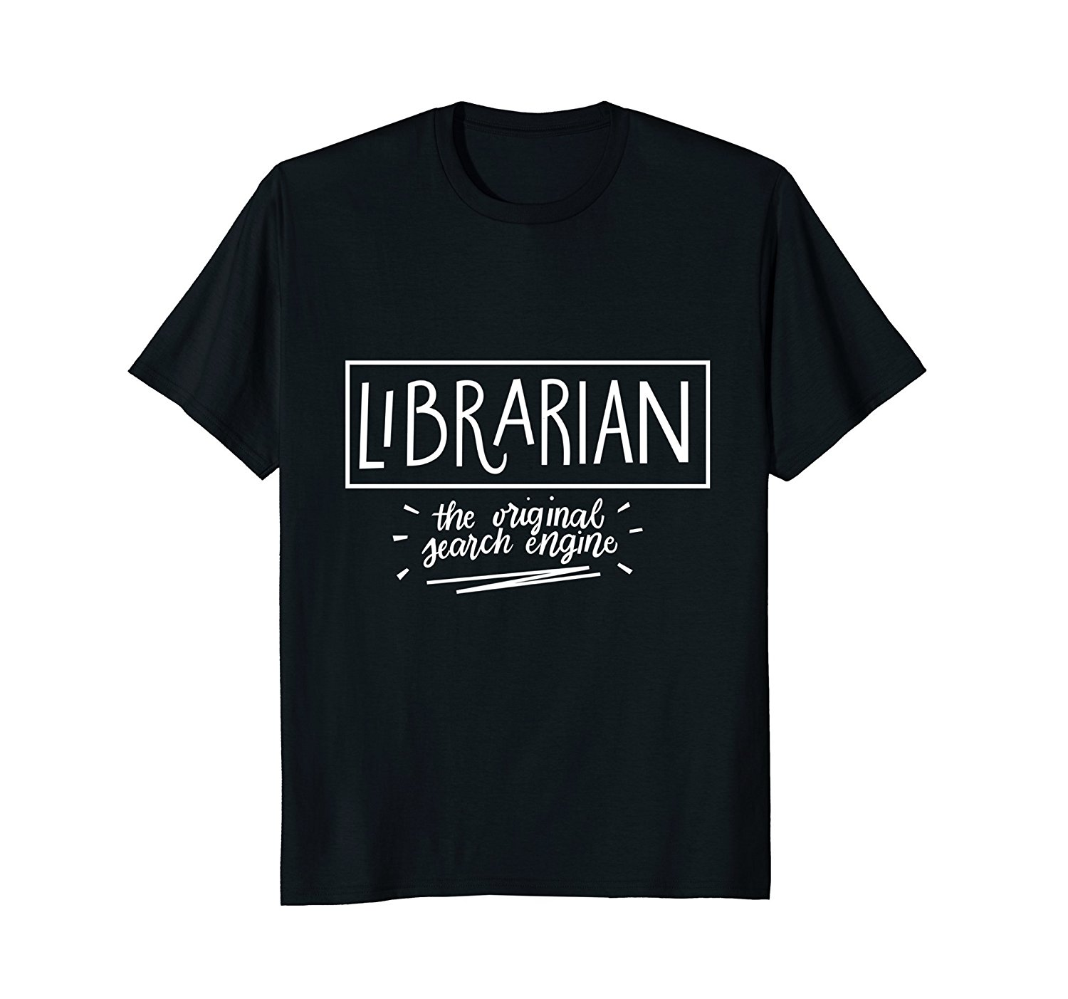 2019 Hot sale Fashion Librarian Original Search Engine Shirt | Librarian Gifts Tee Tee shirt image