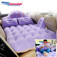 Universal Car Air Inflatable Travel Bed Mattress Back Seat Cover Sofa Pillow Outdoor Camping Mat Cushion Auto Bedding For Kids