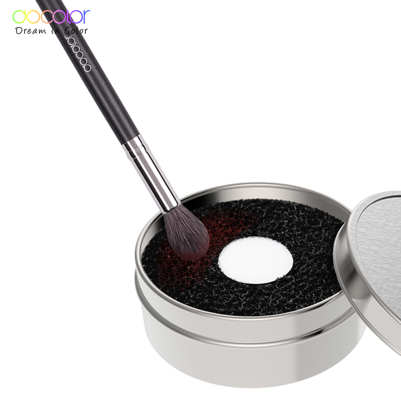 New Arrival Docolor brush clean box 1szt. Odpowiedni do pędzli do makijażu clean beauty essential make up tools