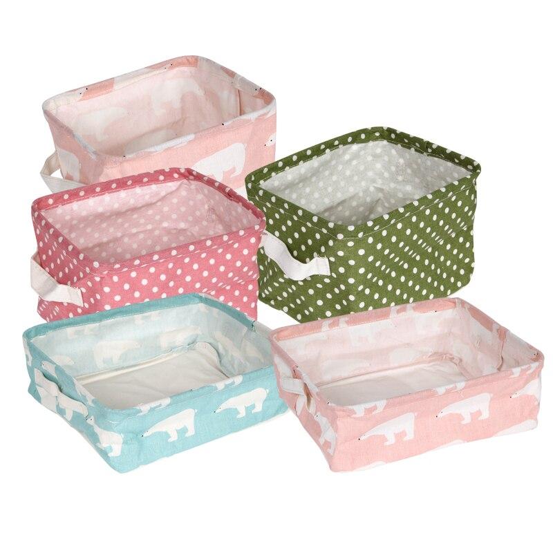 Мультфильм Макияж Косметический коробка для хранения ZAKKA сумка для хранения Организатор складной контейнер для хранения корзина Кахас ...