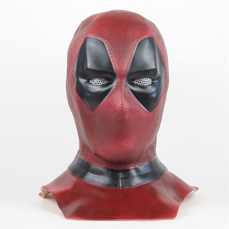 Высокое качество Дэдпул 2 Маска дышащая ПВХ полная маска шлем для лица принадлежности на хеллоуин для косплея Оптовая Капот шлем на продажу!