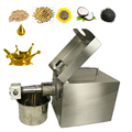 Free shipping home use mini 220v 350w vegetable seed & nut oil extraction machine