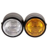 Yetaha Motorcycle Twin Headlight Double Dual Lamp Universal For Suzuki Harley Yamaha Kawasaki Motocross Streetbike Dominator