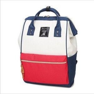 Image 2 - Женский рюкзак, японский дорожный рюкзак с кольцом, женский рюкзак для девушек, женский рюкзак для подростков, Mochilas, рюкзак через плечо