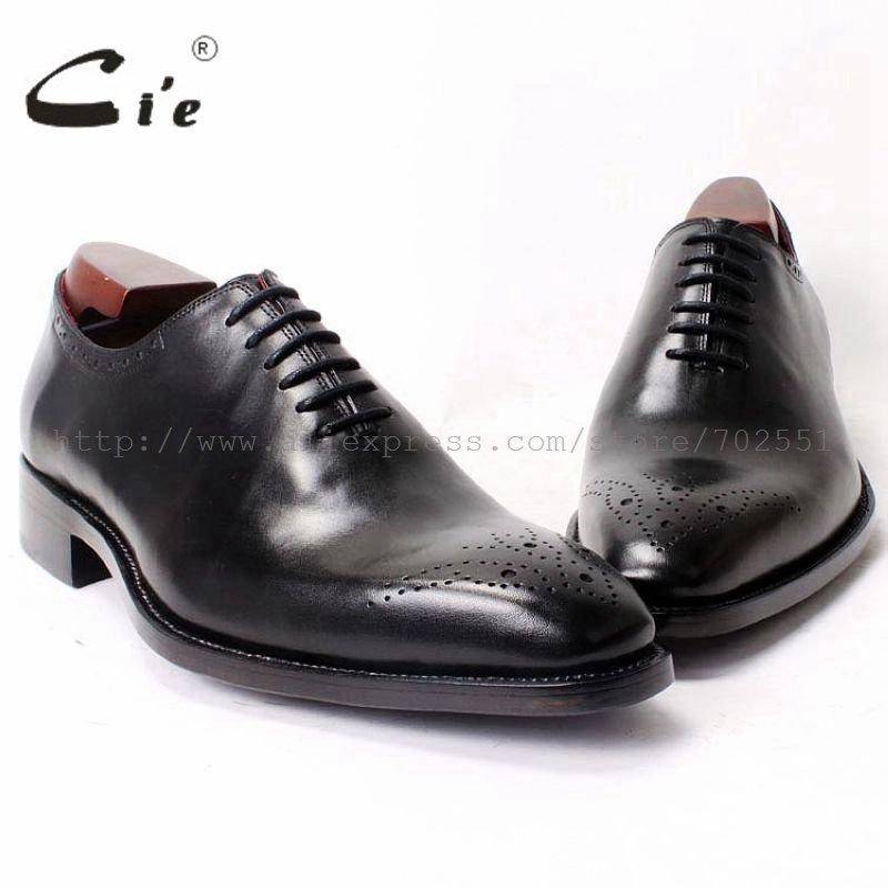 cie Square Plain Toe LaceUp Oxfords Genuine Calf Leather Men Shoe Full Grain Leather Men Shoe Bespoke Men Leather Handmade OX323 men drawstring plain jeans