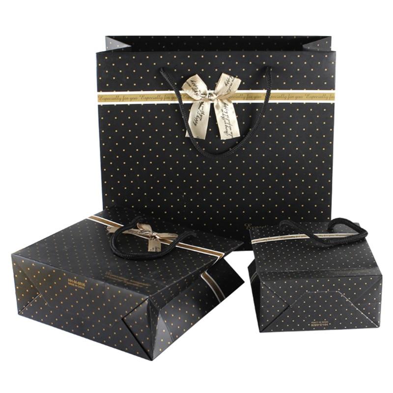 ROCOHANTI 10Pcs Customized Business Gift Bag Creative Bowknot Gift ...