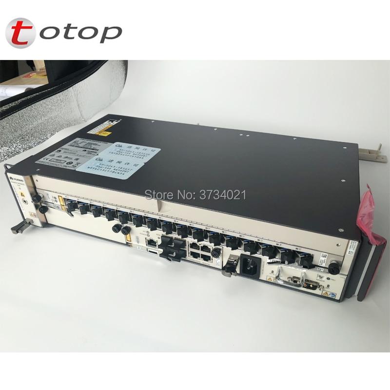 Original Huawei MA5608T GPON or EPON OLT, 2*MCUD control board, 1*MPWD Power Board and 1* 16 ports GPFD C+Original Huawei MA5608T GPON or EPON OLT, 2*MCUD control board, 1*MPWD Power Board and 1* 16 ports GPFD C+