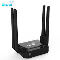 Cioswi routeur WiFi sans fil pour modem USB 3G 4 antennes externes 300Mbps 802.11b/g/n OpenWrt wi-fi Support Omni II firmware 3372