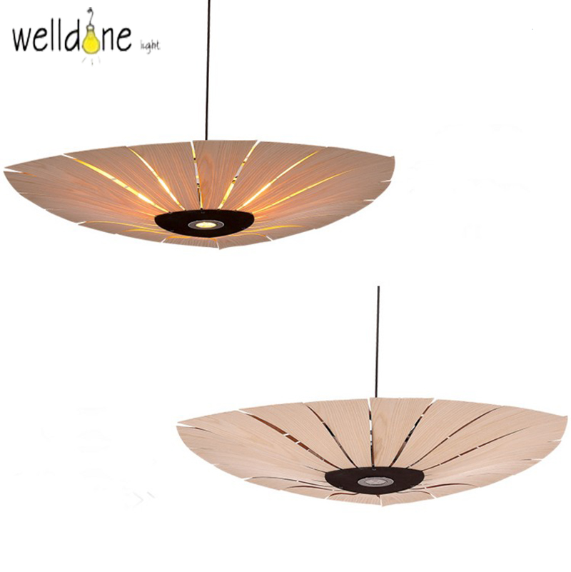 Tradition design Wooden Southeast Asia Chinese Style Bamboo pendant lamp for Restaurant Veneer Dining Room master room Lights southeast asia style hand knitting bamboo art pendant lights modern rural e27 led lamp for porch