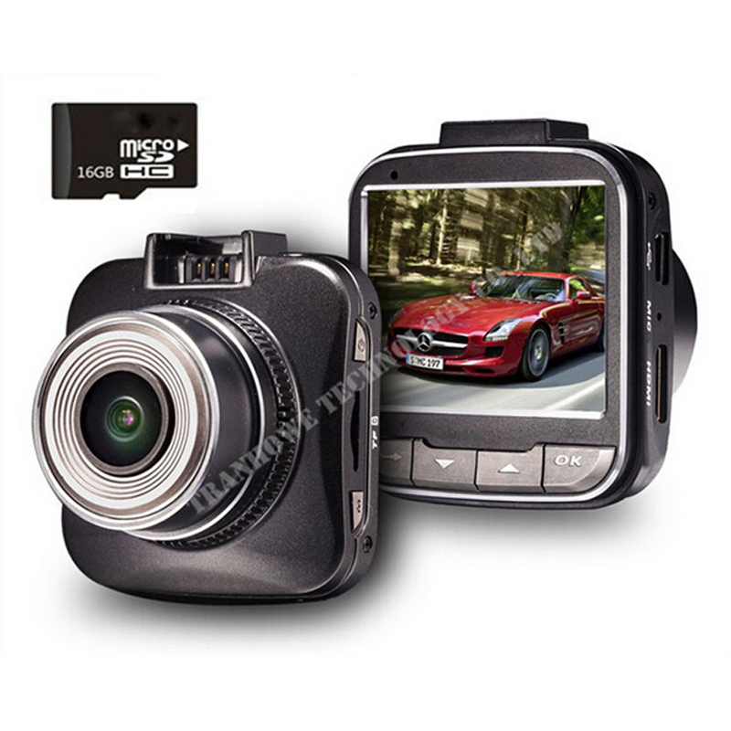 цена на G50 Novatek 96650 H.264 Full HD 1080P Mini Car DVR Video Recorder 2.0Inch LCD 170 degree 4X Dash Cam&16GB TFCard Free Shipping!