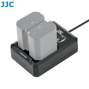 JJC Dual-Battery-Charger Camera Sony USB for Fits NP-FZ100/JJC with Double-Led-Indicators