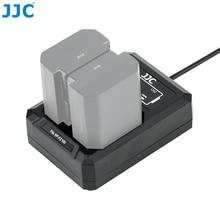 JJC NP FZ100 USB المزدوج البطارية شاحن أجهزة سوني A9 A7III A7RIV A7RIII A7M3 A7RM4 A7RM3 A7 مارك الثالث A7R مارك الرابع III يستبدل BCQZ1