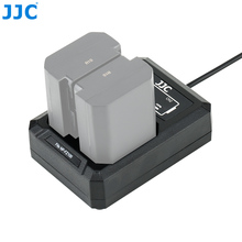 Dual-Battery-Charger JJC A7RIII NP-FZ100 Sony A9 USB for A7iii/A7riv/A7riii/..