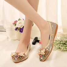 Buy rhinestone point toe comfort flats and get free shipping on  AliExpress.com 9b8fc309c9d1