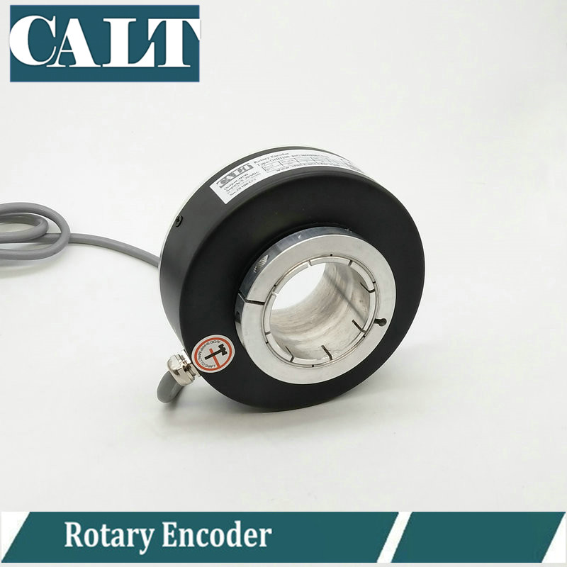China supply 1024 3600 5000 pulse rotary encoder hollow shaft incremental encoder GHH100 series все цены