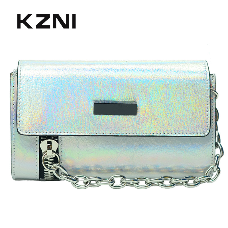 KZNI Genuine Leather Luxury Handbags Women Bags Designer Cross Shoulder Bags Female Purses and Handbags Sac a Main Pochette 2151 kzni genuine leather purses and handbags bags for women 2017 phone bag day clutches high quality pochette bolsa feminina 9043