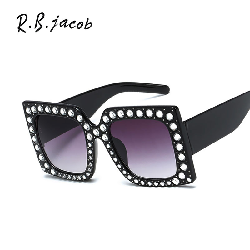 2017 Luxurious Hot Sale Fashion Women Sunglasses New Style Lady Sun Glasses Hipster Vintage Brand Designed UV400 High Quality