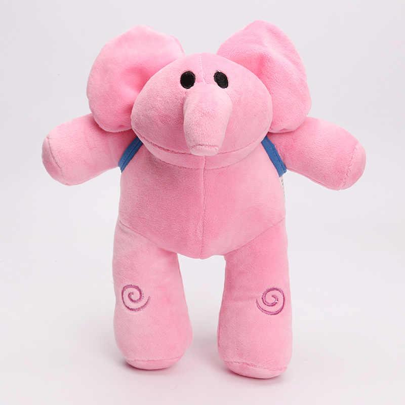 Brinquedos de Pelúcia Boneca Dos Desenhos Animados POCOYO ELLY pato LOULA POCOYO Stuffed Toy 12-26 cm