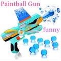 Kid Toy Guns Paintball Gun Nerf Soft Bullet Gun Plastic Toys Infrared CS Game Shooting Crystal Water Bullet Gun Pistol Free Ship