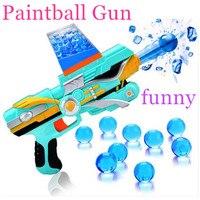 Kid Toy Guns Paintball Gun Soft Bullet Gun Plastic Toys Infrared CS Game Shooting Crystal Water Bullet Gun Pistol Free Shipping