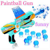 Toy Guns Popgun Paintball Gun Soft Bullet Gun Plastic Toys Infrared Crystal Water Bullet Gun Shooting