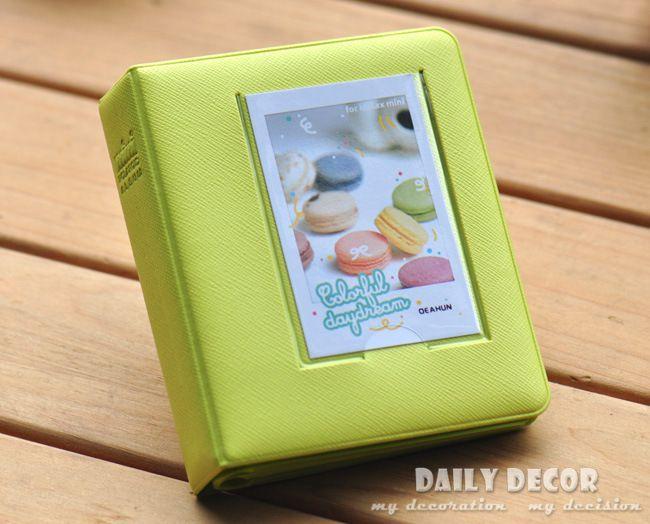 Neue 64 Taschen 3 zoll Polaroid foto bild Album Case Für fuji...