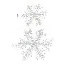 Płatki śniegu 3 sztuki