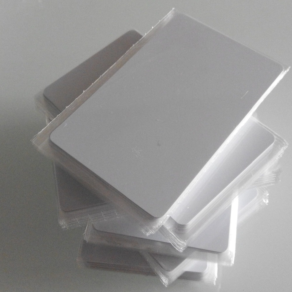 Samples 200pcs/lots Rfid Uhf White Card Uhf Pvc Tag For Windshield/vip Card Ic/id Card