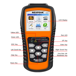 Image 3 - 2020 nuovo strumento diagnostico automatico ODB2 dellanalizzatore diagnostico completo ODB 2 dellanalizzatore dellautomobile OBD2 Nexpeak NX501 migliore del lancio CR5001