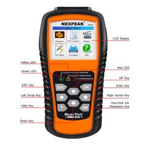 Image 3 - 2021 nuovo strumento diagnostico automatico ODB2 dellanalizzatore diagnostico completo ODB 2 dellanalizzatore dellautomobile OBD2 Nexpeak NX501 migliore del lancio CR5001