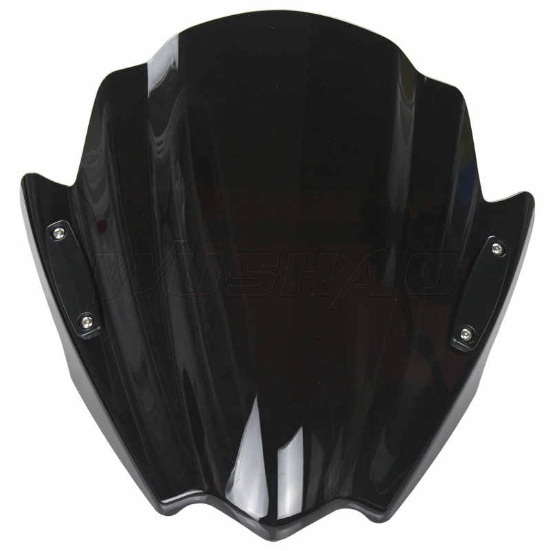 Motor Bikes Jalan Setang Windshield Windscreen untuk 2013-2018 Yamaha MT-07 MT-09 MT-10 MT-125 MT09 MT07 MT10 MT125