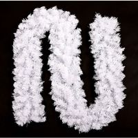 2 7m Christmas Garland White Christmas Rattan Christmas Decoration Supplies Christmas Decorations For Home Free Shipping
