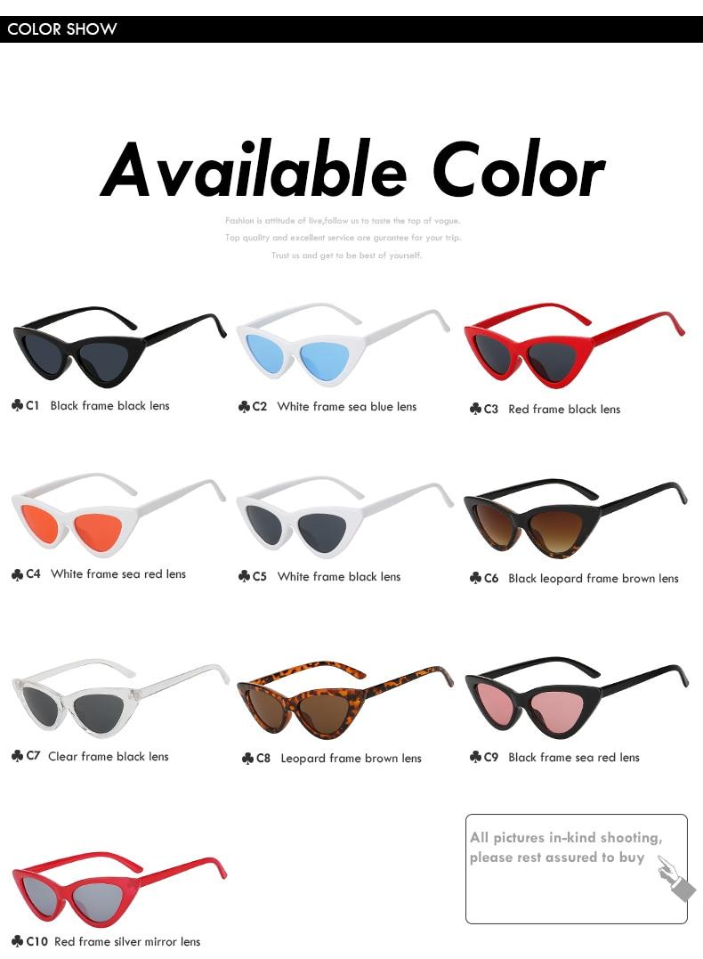 Cat Eye Sunglasses c18