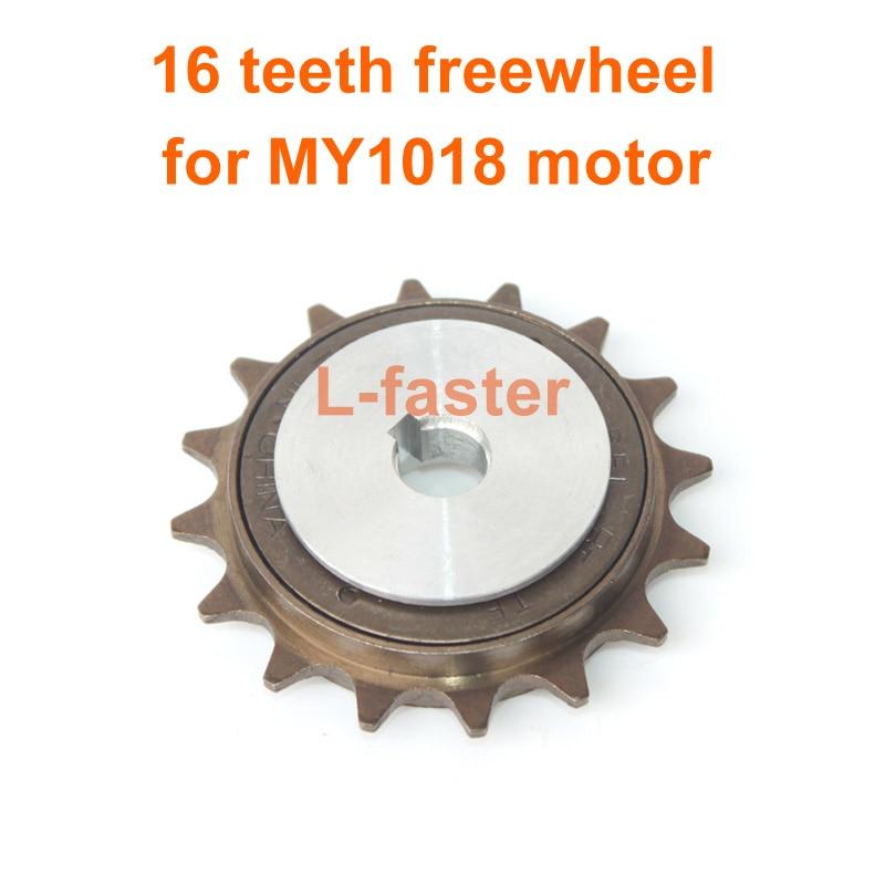 "16T Freewheel Unite Motor 1/2\""x\""1/8\"" Chain Freewheel Fit 410 Bicycle Chain Customized Freewheel Base Left Drive Motor"