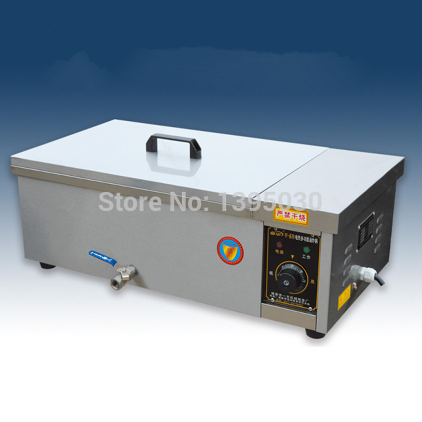 1PC YF-12 deep fryer pot,Commercial Household Stainless Steel Deep Fryer Machine For Potato,Chicken Frying Machine ce stainless steel household and commercial 6l electric deep fryer frying machine with free shipping to some countries