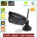 Waterproof 1920x1080 P 2.0MP Bullet Ip Camera 24LED IR Outdoor Surveillance Camera ONVIF Night Vision P2P IP CCTV Cam with IR Cu