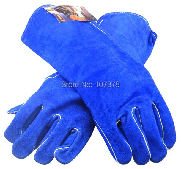 Leather Work Glove Leather Welder Safety Glove Split Cow Leather Welding Glove leather safety glove deluxe tig mig leather welding glove comfoflex leather driver work glove