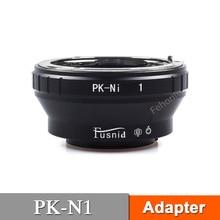 PK-N1 Adapter for PK Lens to N1 V1 J1 J2 J3 J4 Mirrorless Camera fujian 35mm f1 7 cctv movie lens 50mm f1 4 cctv tv lens c mount for nikon 1 aw1 s1 s2 j5 j4 j3 j2 j1 v3 v2 v1 mirrorless camera